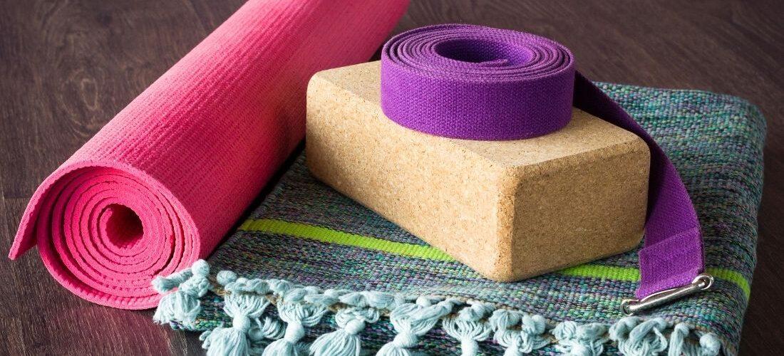 Yoga met hulpmiddelen